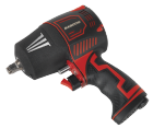 Sealey Composite Air Impact Wrench 1/2 inch Sq Drive Twin Hammer